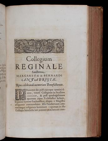 Printed insert, 17th century (?)