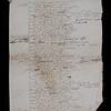 17th century Latin poem on Charles I (recto)