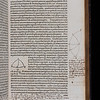 Annotations and drawing, 16th century