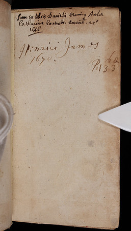 Owner inscription