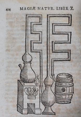 Author: Giambattista della Porta  Title: Io. Baptistae Portae Neapolitani, Magiae natvralis libri vigintiIo. Baptistae Portae Neapolitani, Magiae natvralis libri viginti  (Frankfurt, 1597) Shelfmark: H.20.32   (catalogue record)