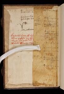 Manuscript waste, 15/16th century