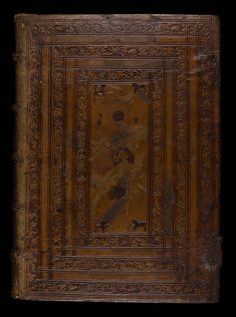 Spanish plateresque binding, 16th century
