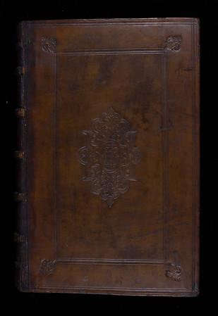 Calf binding, 16th century