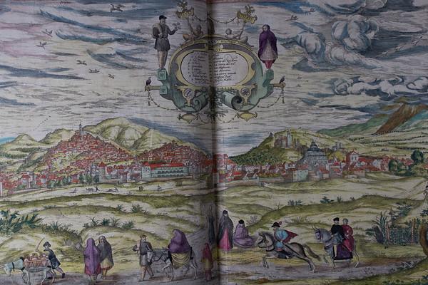"Engraving by Franz Hogenberg, hand-coloured. <b>Author:</b> Georg Braun <br> <b>Title:</b><i> Civitates orbis terrarvm </i> (Antwerp, 1575)<br> <b>Shelfmark:</b> D.4.1  <a href=""http://idiscover.lib.cam.ac.uk/primo-explore/fulldisplay?docid=44CAM_ALMA21402277610003606&amp;context=L&amp;vid=44CAM_PROD&amp;search_scope=SCOP_QUE&amp;tab=cam_lib_coll&amp;lang=en_US""> (catalogue record)</a>"