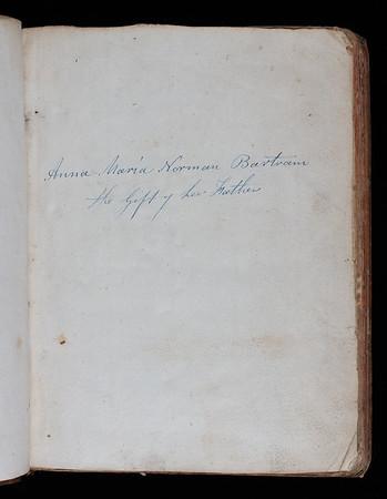 Ownership inscription, 19th century