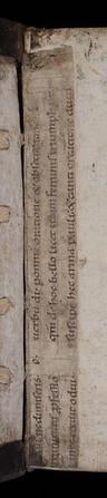 Manuscript waste, 13/14th century