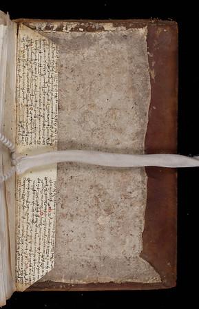 Manuscript waste, possibly 14th century