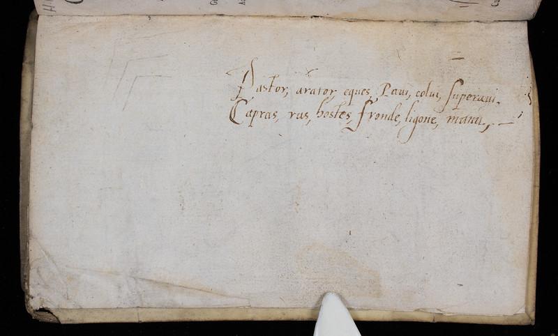 Annotation, 17th century (?)