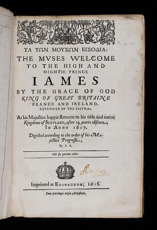 Name Inscription, 17th century