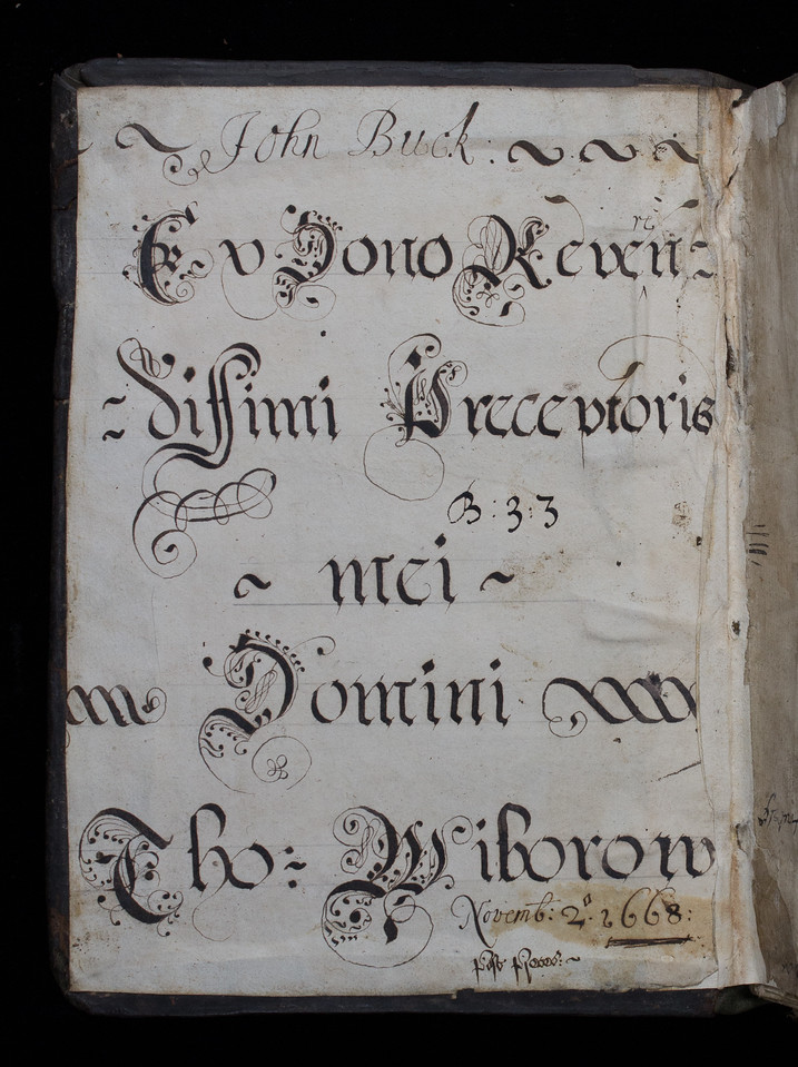 Donor inscription, 17th century