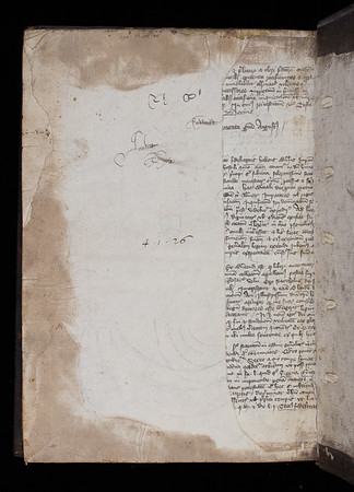 Manuscript waste, 14/15th century