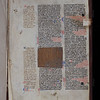 Manuscript waste, 13th century