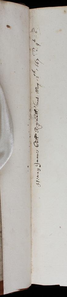 Ownership inscriptionof Henry James, 17th century