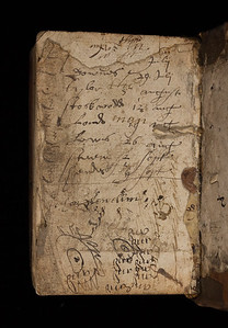 Annotations and doodles, 16/17th century