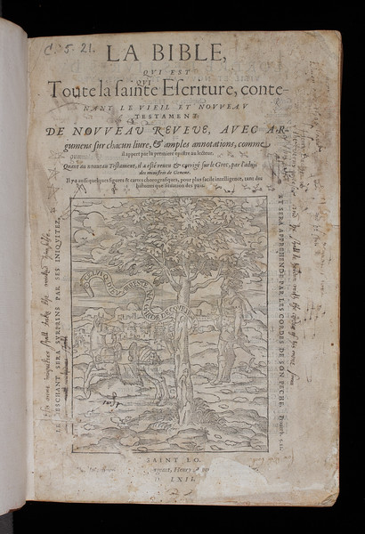 Ownership inscription