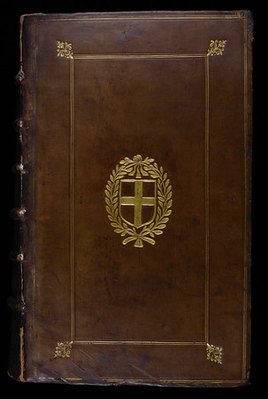 Armorial binding, 17th century