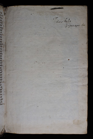 Ownership inscription of John Boyle, 17th century