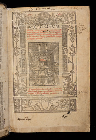 Inscriptions and annotations, 16th/ 17th century