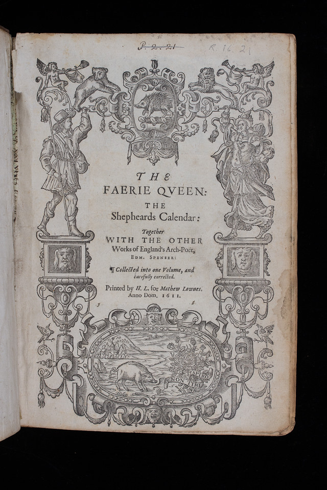 Woodcut, title page, 17th century