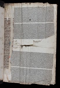 Manuscript waste and printed waste, 16th century