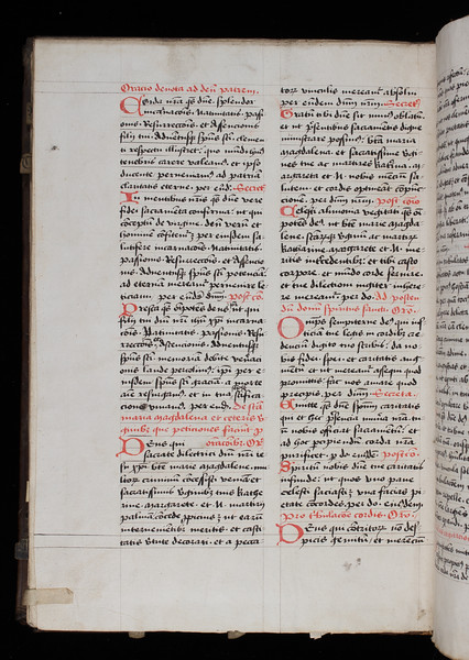 Manuscript copy of missing page