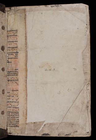 Manuscript waste, 14th century (?)