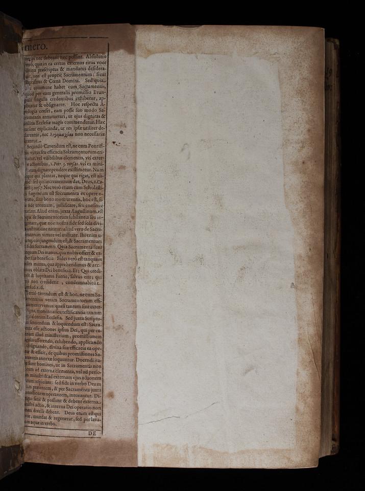 printed waste, (17th century?)