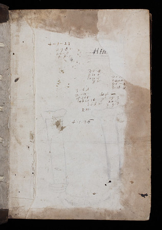 Calculations, 17th century.