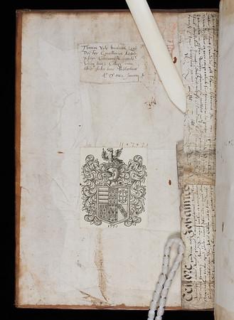 Donor inscription of Thomas Yale