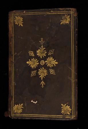 Calf gilt-tooled binding, 17th century
