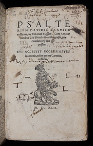 Ownership inscription, possibly Robert Palmer, notes, 16th/17th century