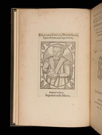 Portrait of Thomas Smith, 16th century
