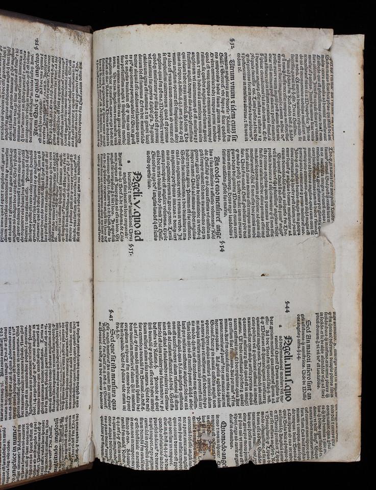 Printer's waste, 16th century