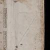 Manuscript waste and pen trials, 16th century