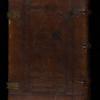 Blind-panelled calf binding, 16th century