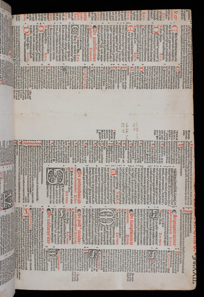 Printed waste with annotations, possibly 16th century