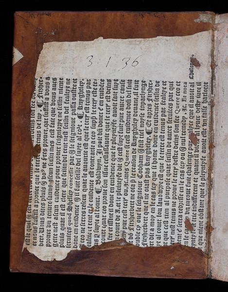 Printed waste, 16th century