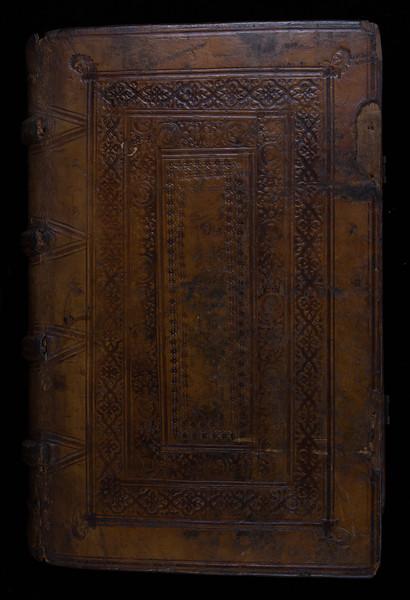 Binding possibly by University binder Thomas Thomas, 16th century
