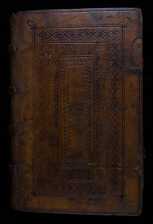 Binding possibly by University binder Thomas Thomas, 16th century