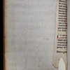 Manuscript waste, 15th century