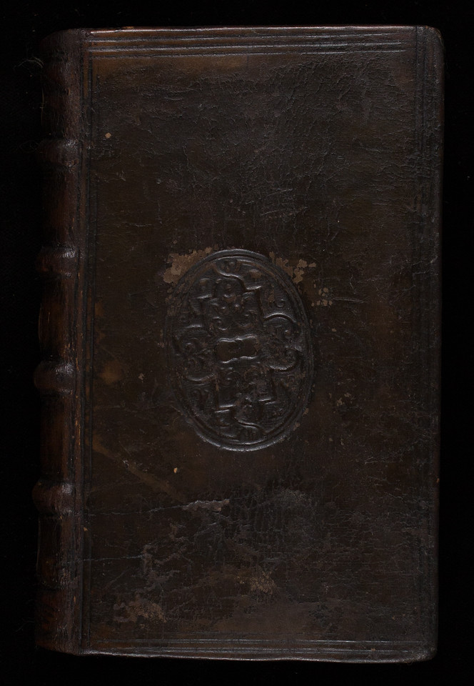 Englsh calf binding, 16th century