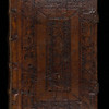 English blind-stamped binding, 16th century