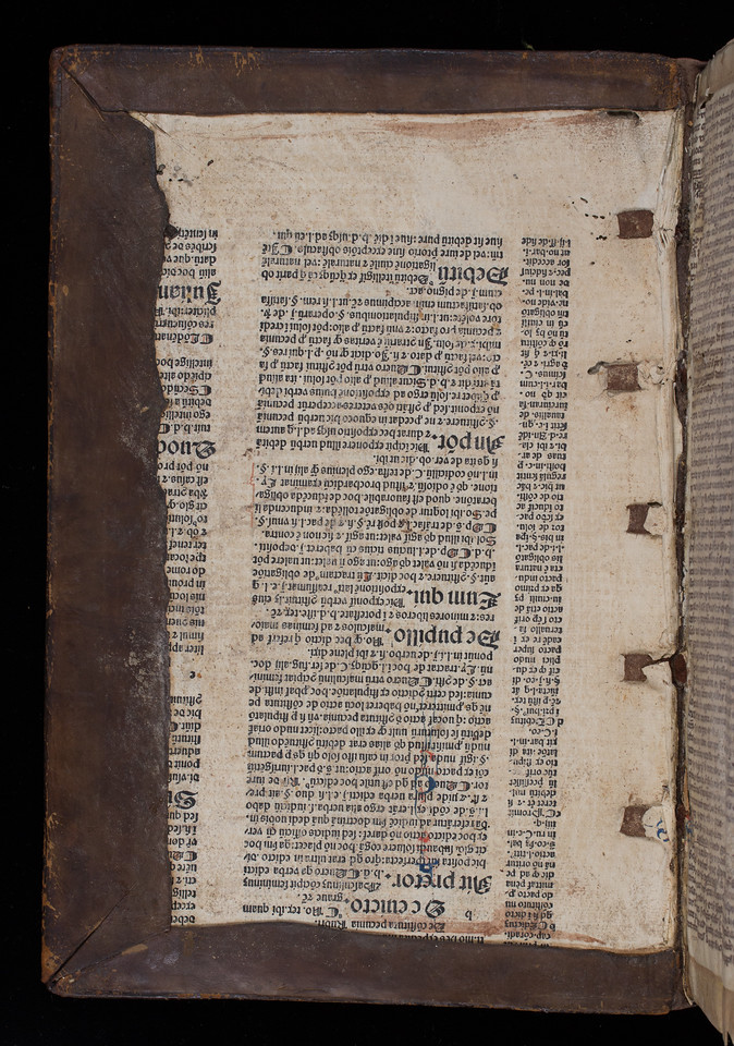 Printed waste, 15th/16th century