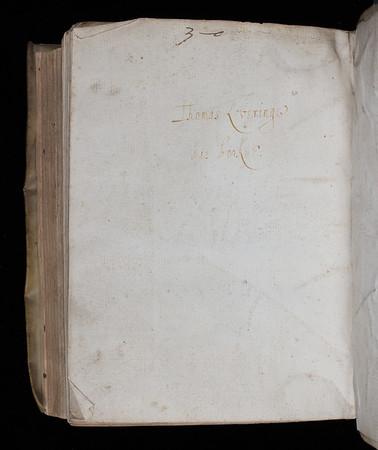 Inscription of Thomas Lovering, 17th century