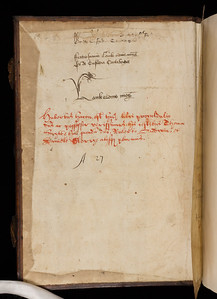 Inscription of Johannes Lambe, 16th century