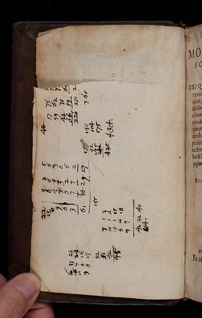 Calculations, 17th century