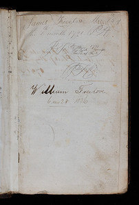 Ownership inscriptions, 18th-19th centuries
