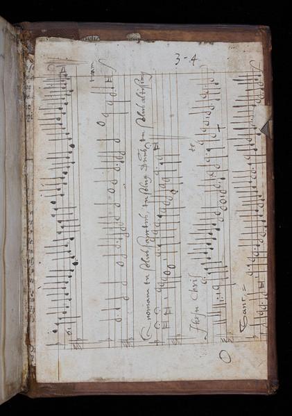 Manuscript waste, 17th century