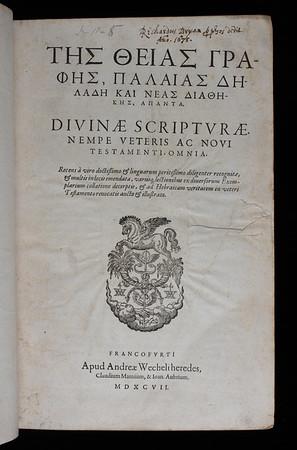 Ownership inscription of Richard Bryan, 17th century